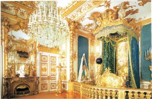 A bedroom in the palace