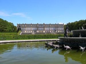 The New Palace from the Latona Fountain