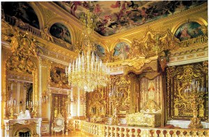 The lavish State  Bedroom at Herrenchiemsee