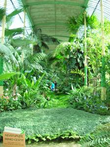 The greenhouse at Lednice