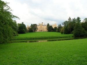 Lednice Chateau from the park
