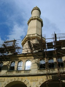The Minaret was under renovation during my visit.