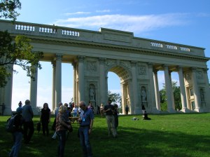 The Rajsná Colonnade