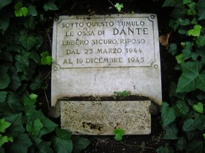 Dante died in Ravenna on September 13-14, 1321.