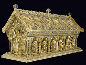 The reliquary of Saint Maurus from www.svatymaur.cz
