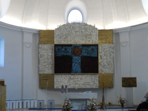 The main altarpiece in Jedovnice