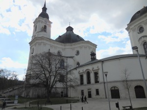 The Pilgrimage Church of the Virgin Mary in Křtiny