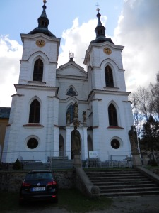 Želiv Monastery's Church of the Virgin Mary's Birth