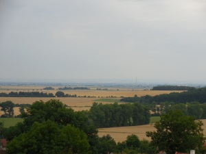 View from Loučeň Chateau