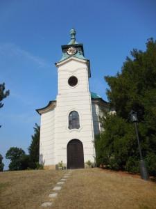 The church at Karlova Koruna