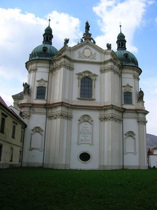 Osek Church facade 2